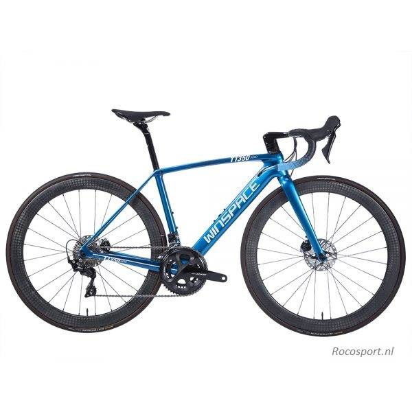 Winspace T1350D Blue Shimano R8000 bicycle racingbike racefiets  Rocosport.nl