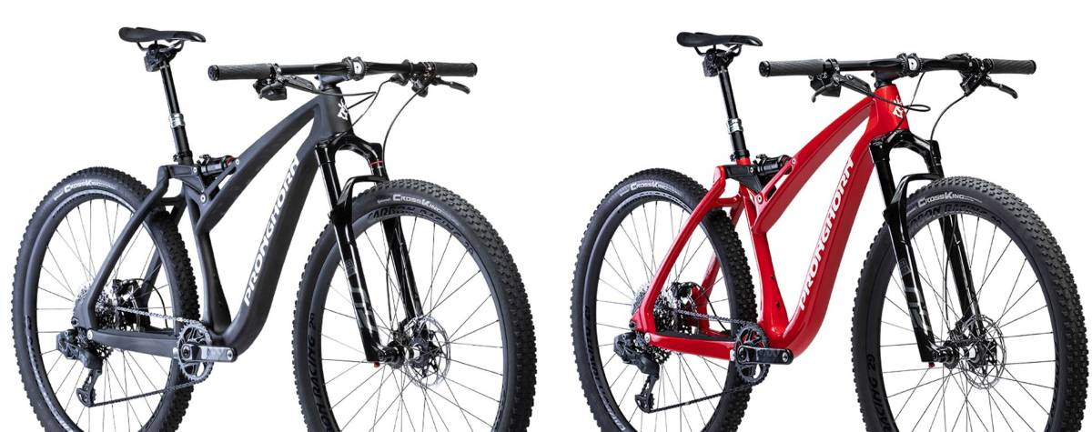 Pronghorn Fully 29 carbon mountainbike header foto Rocosport